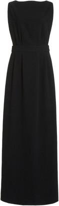 MATIN Open-Back Cotton Maxi Dress