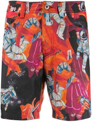 Valentino Infinity City swimming shorts