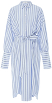 Tibi Pinstripe Shirt Dress