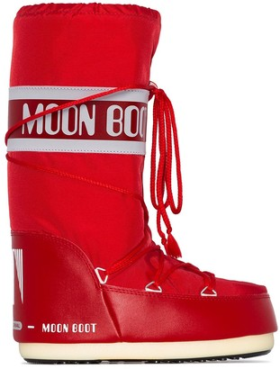 Moon Boot Icon logo snow boots