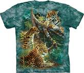 The Mountain Three Jungle Cats Adult T-Shirt Tee