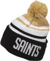 New Era NFL New Orleans Saints Knitted Bobble Hat Black