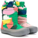 Stella McCartney splash paint effect snow boots