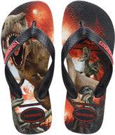 Havaianas Twin Jurassic world flip flops