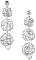 Kate Spade Crystal Rose Linear Earrings