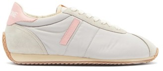 RE/DONE 70s Suede And Nylon Runner Trainers - Grey