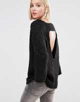 Cheap Monday Knit Sweater with Open Back