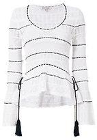 Ronny Kobo Henya Bell Sleeve Sweater
