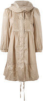 Moncler Cabannes mid-length coat - women - Polyamide/Polyester - 0