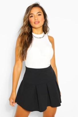boohoo Petite Pleated Tennis Skirt