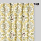 Cost Plus World Market Multicolor Mosaic Concealed Tab Top Curtains, Set of 2
