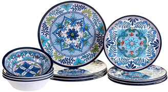 Certified International Talavera By Nancy Green 12Pc Dinnerware Set