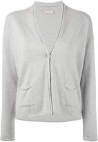 Le Tricot Perugia knitted cardigan - women - Cotton/Viscose/Polyester/Polyamide - M