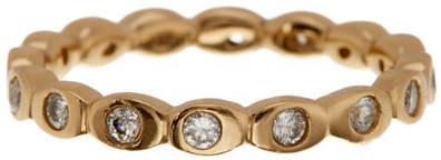 Melinda Maria Teeny CZ Pod Ring - Size 9