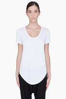 HELMUT White Scoopneck T-Shirt