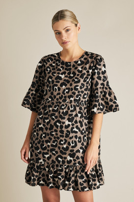 Seed Heritage Animal Ruffle Dress