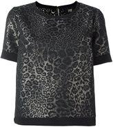 Class Roberto Cavalli jacquard shortsleeved sweatshirt