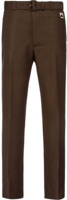 Prada bootcut tailored trousers