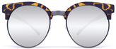 Quay Highly Strung Sunglasses in Tort/Silver Mirror