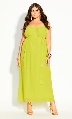 City Chic Paradise Maxi Dress - citronelle