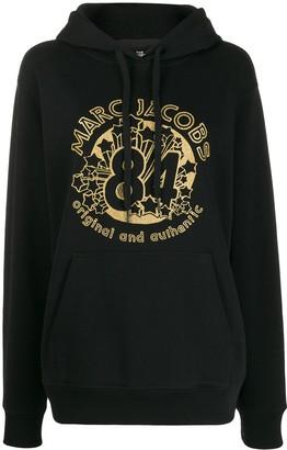 Marc Jacobs loose-fit logo hoodie