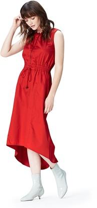 Find. Amazon Brand Women's Zip Front Sleeveless Dress