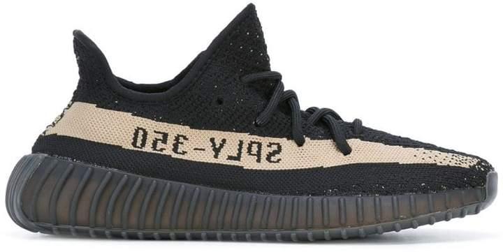 Yeezy Adidas x Boost 350 V2 Core Black Green