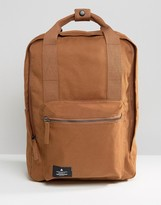 Asos Backpack In Canvas With Grab Handle