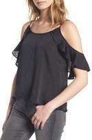 BP Women's Drape Ruffle Camisole
