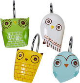 Creative Bath Creative BathTM Give a Hoot Shower Curtain Hooks