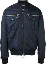 DSQUARED2 Summer bomber jacket - men - Cotton/Polyamide/Polyester/Viscose - 48