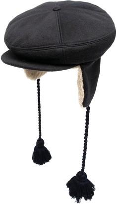 Gucci Tassel-Detail Flat Cap