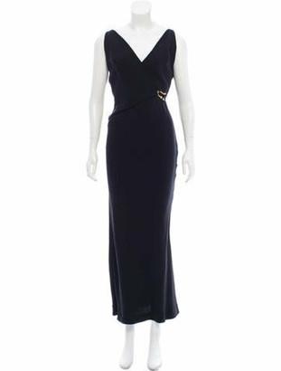 Gucci Sleeveless Evening Dress Black