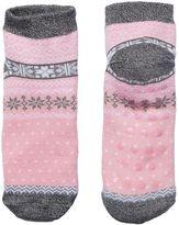 Cuddl Duds Girls 4-16 Snowflake Slipper Socks