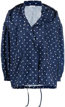 P.A.R.O.S.H. Ponyo polka-dot rainjacket