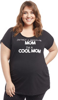 Motherhood Plus Size Cool Mom Maternity Tee