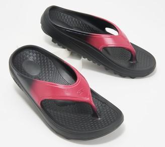 Spenco Orthotic Thong Sandal - Fusion Fade