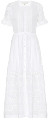 LoveShackFancy Edie cotton maxi dress