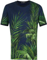 Dolce & Gabbana leaves print T-shirt