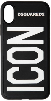 DSQUARED2 Logo Print Tech Iphone X/xs Cover