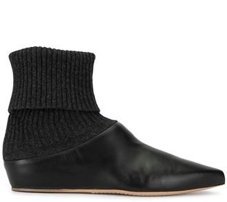 Gabriela Hearst Rocia cashmere boots