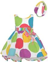 Bonnie Jean Baby Girls Color Polka Dots Balloon Birthday Dress 24M