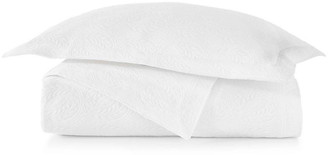 Peacock Alley Vienna Coverlet - White Cal king