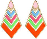 Amrita Singh Chevron Pop Earrings