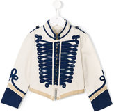 Stella McCartney military jacket - kids - Cotton/Polyester - 10 yrs