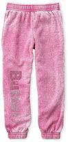 Butter Shoes Girls 4-6x) Studded Logo Burnout Fleece Sweatpants