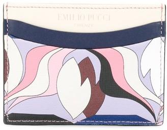 Emilio Pucci printed card holder