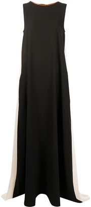 Plan C Sleeveless Maxi Dress