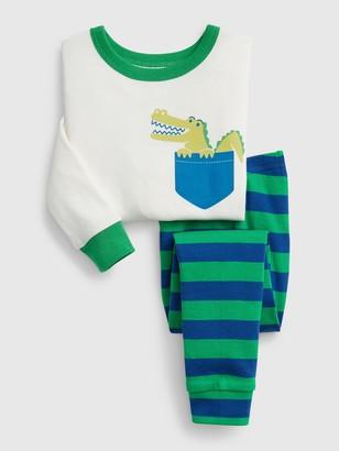 Gap babyGap Alligator PJ Set