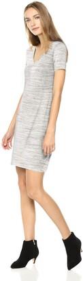 Amazon Brand - Daily Ritual Women's Jersey Short-Sleeve V-Neck T-Shirt Dress